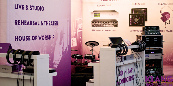 KLANG booth at Musikmesse 2015